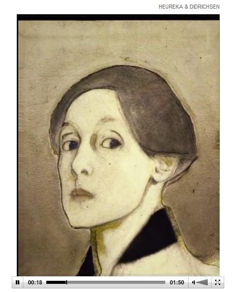 """Helene Schjerfbeckin """"Metamorfoosi"""" on nähtävissä HS.fi-sivulla 25.3.2012 asti."""